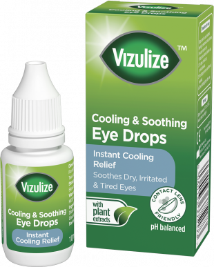 Vizulize Cooling & Soothing Eye Drops 10ml.