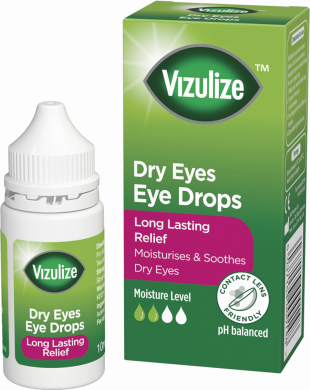 Vizulize Dry Eye Drops 10ml.