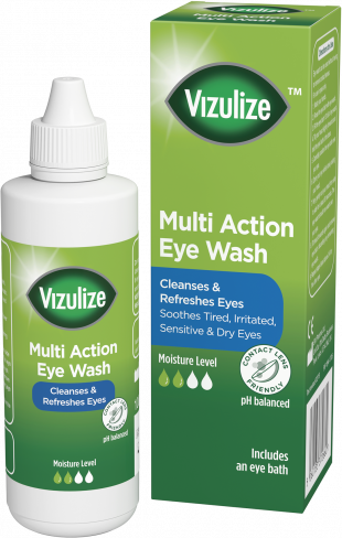 Vizulize Multi Action Eye Wash 10ml.