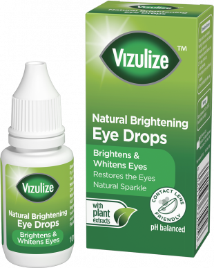 Vizulize Natural Brightening Eye Drops 10ml.